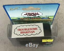1994 Learning Curve Wooden Thomas Train Black Roof Troublesome Brakevan