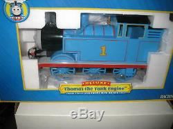 Bachmann G Gauge Deluxe Thomas The Tank Engine Locomotive With Moving Eyes 91401