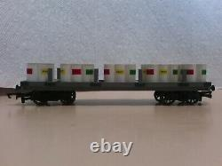 Bachmann Trains Thomas and Friends Flatbed with Paint Drums 77027 HO/OO AS IS