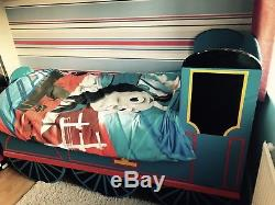 Bespoke Unique Custom Made Thomas The Tank Engine Bed With Brand New Mattress