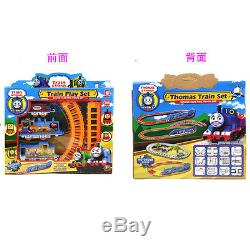 Boy Girl Toy Thomas Train Electric Railway Rail Track Train Kids Xmas Gift Sets