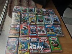 Bundle Of 23 Thomas The Tank Engine VHS Tapes (Includes Rare Releases)