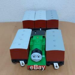 Discontinued THOMAS & FRIENDS OLIVER Dedicated Coach 6 pc. TOMY PLARAIL Working