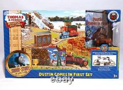 Dustin Comes In First Train Set BRIO ELC Wooden Railway THOMAS AND FRIENDS Toys