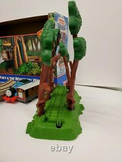 Fisher-Price Thomas & Friends Trackmaster Toby & the Whistling Woods Train Set