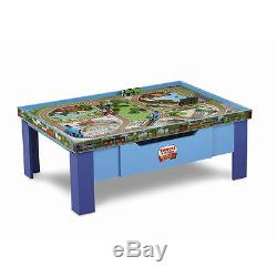 Fisher-Price Thomas & Friends Wooden Train Railway Grow With Me 2 Side Play Table