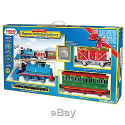 G Scale Thomas the Tank Engine Christmas Delivery Train Set Bachmann 90087
