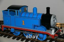 G Scale Thomas the Tank Engine with moving eyes. New In Box Bachmann 91401