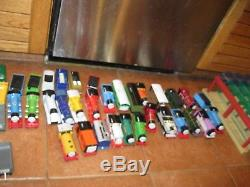 HUGE LOT OF 63 THOMAS THE TANK ENGINE & FRIENDS Trains Tracks Station