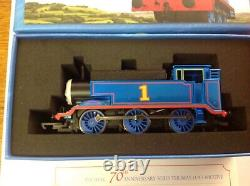 Hornby R9303 Thomas the Tank Engine 70th Anniversary CERTIFICATE NO 70