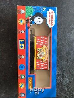 Hornby Thomas The Tank Engine James And Circus Carriage