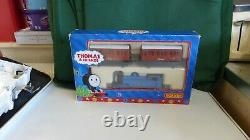 Hornby Thomas the Tank engine + Annie and Claribel DCC Fitted runs on dc too