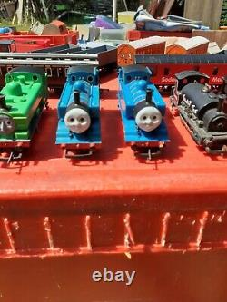 Hornby Thomas the tank engine trains and Hornby buildings