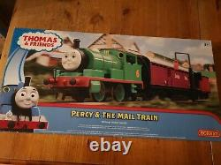 Hornby thomas the tank engine. Percy and the Mail train. 00 gauge electric train