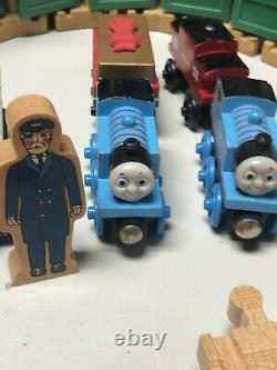 Huge Thomas The Train Wooden Track Lot Including Thomas the Train Wood Toy Box