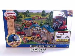 James Sorts It Out Train Set BRIO ELC Wooden THOMAS AND FRIENDS Steamworks Colin