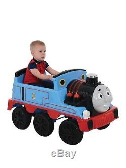 Kids Ride On 12V Thomas The Tank Engine 2 Speed Settings Sounds Lights