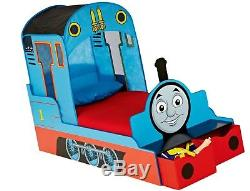Kids Toddler Bed Thomas The Tank Engine With Underbed Storage Boys Bedroom Home