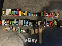 Lot 57 Thomas the Tank Engine-and Friends Wooden Trains- Rare / Vintage (plus)