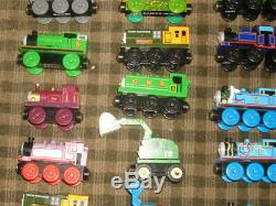 Lot Of 68 Thomas the Tank Engine-and Friends Wooden Trains- Rare / Vintage