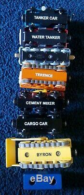 Lot of 47 Thomas The Train Tank Engine Wooden Trains and Cars Bulk RARE Vintage