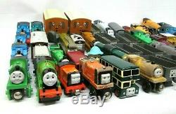 Lot of 49 Thomas the Tank Engine Trains and Train Cars Only