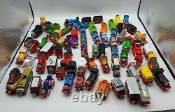 Lot of 70 Thomas and Friends Die Cast Metal Trains and Cars Magnetic