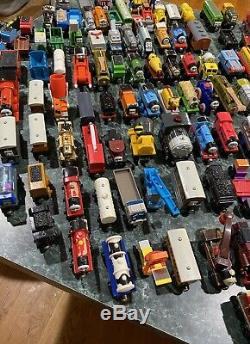 MASSIVE Lot Of 150+ Thomas The Train & Friends Wooden / Die Cast Trains / Cars