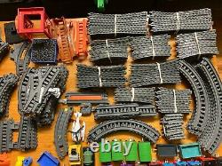 Missive Lot of Thomas and Friends Trackmaster Gray Trains & Tracks over 300 pc