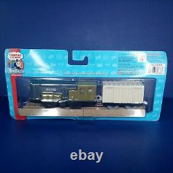 NEW 2008 Thomas and Friends Trackmaster Motorized Engine Dodge and Boxcar Rare