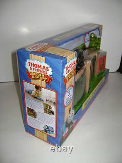 NEW Thomas & Friends Wooden Train WACKY TRACK BRIDGE with PAXTON Wood RETIRED
