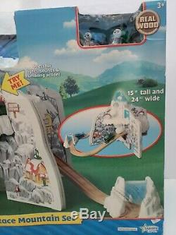 NEW Thomas The Train Wooden Railway Rumble And Race Mountain Set