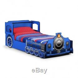 New Kids Blue Thomas The Tank Engine 30 Single Bed Frame Children's Bedroom