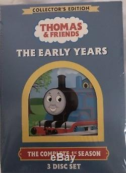 New Thomas The Tank Engine & Friends The Early Years 3-Disc Set Collector's Ed