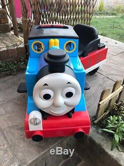 Peg Perego 6v Battery Ride On Thomas The Tank Engine With Track