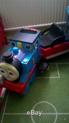 Peg Perego Thomas The Tank Engine Ride On Train COLLECTION
