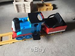 Peg Perego Thomas the Tank Engine with lots of track a great Christmas gift