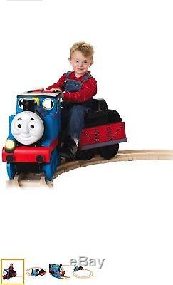 Peg Perego thomas the tank engine ride on train and track