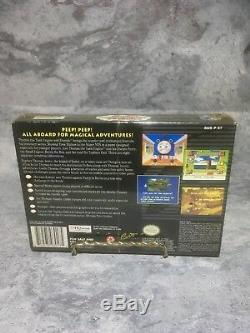 RARE Thomas the Tank Engine & Friends SNES Brand New, Factory Sealed (c5)