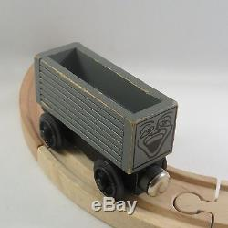 Rare 1st Ed. Troublesome Brakevan, Brown Roof, and Truck, Thomas Wooden Trains