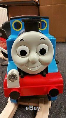 Ride On Peg Perego Thomas The Tank Engine And Track in immaculate condition