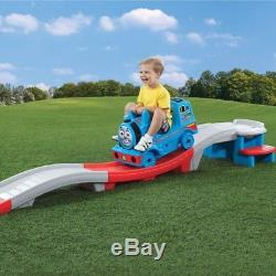Step2 Thomas the Tank Engine Up and Down Roller Coaster Brilliant In Outdoor Fun