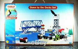 THOMAS & FRIENDS Wooden Railway Down by the Docks Brand New Free Shipping