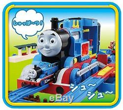TOMY Plarail Playing the Steam Engine BIG Thomas the Tank NEW Japan