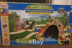 Talking Railway The Great Discovery Train Set BRIO Wooden Thomas Friends Boxed