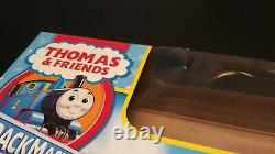 Thomas & Friends Holiday Time in Sodor Motorized Tank Engine 2008 Train Set NOB