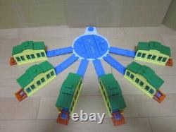Thomas & Friends Plarail Turntable Sheds Bumping Posts 6 pc. TIDMATH SHEDS used