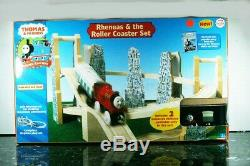 Thomas & Friends RHENEAS & THE ROLLER COASTER SET 99564 Brand New Free Shipping