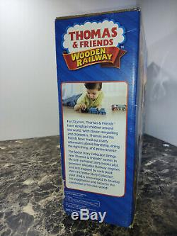 Thomas & Friends Wooden Railway Sam and the Great Bell Set Sodor Story NEW