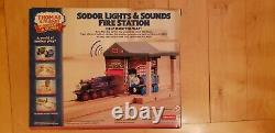 Thomas & Friends Wooden Railway Sodor Fire Station 2014 Toys R Us Exclusive